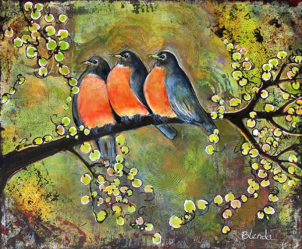 Three Little Birds - Robins