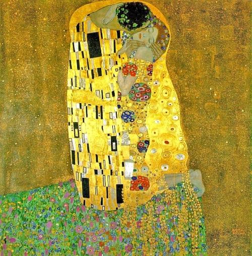 "Der Kuß (""The Kiss"")  - Gustav Klimt, 1907"