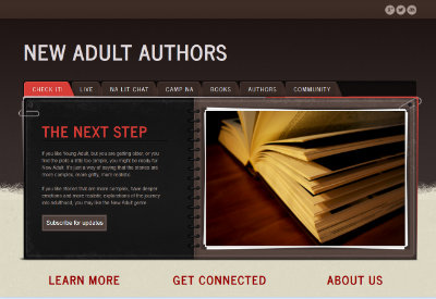 New Adult Authors