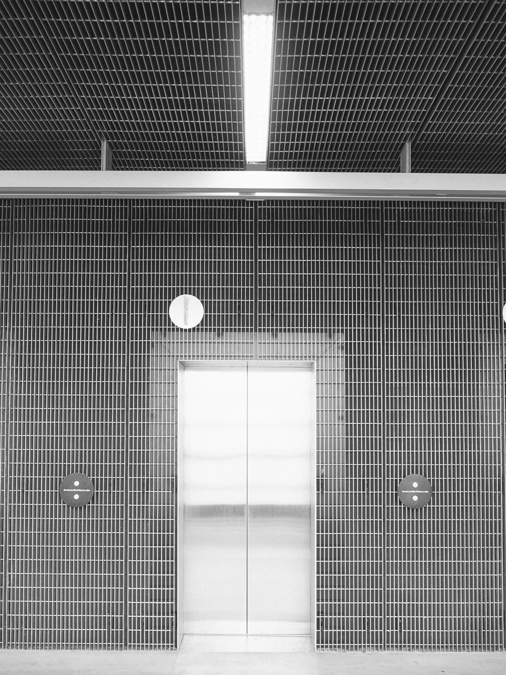 RMIT Design Hub - Lift  detail