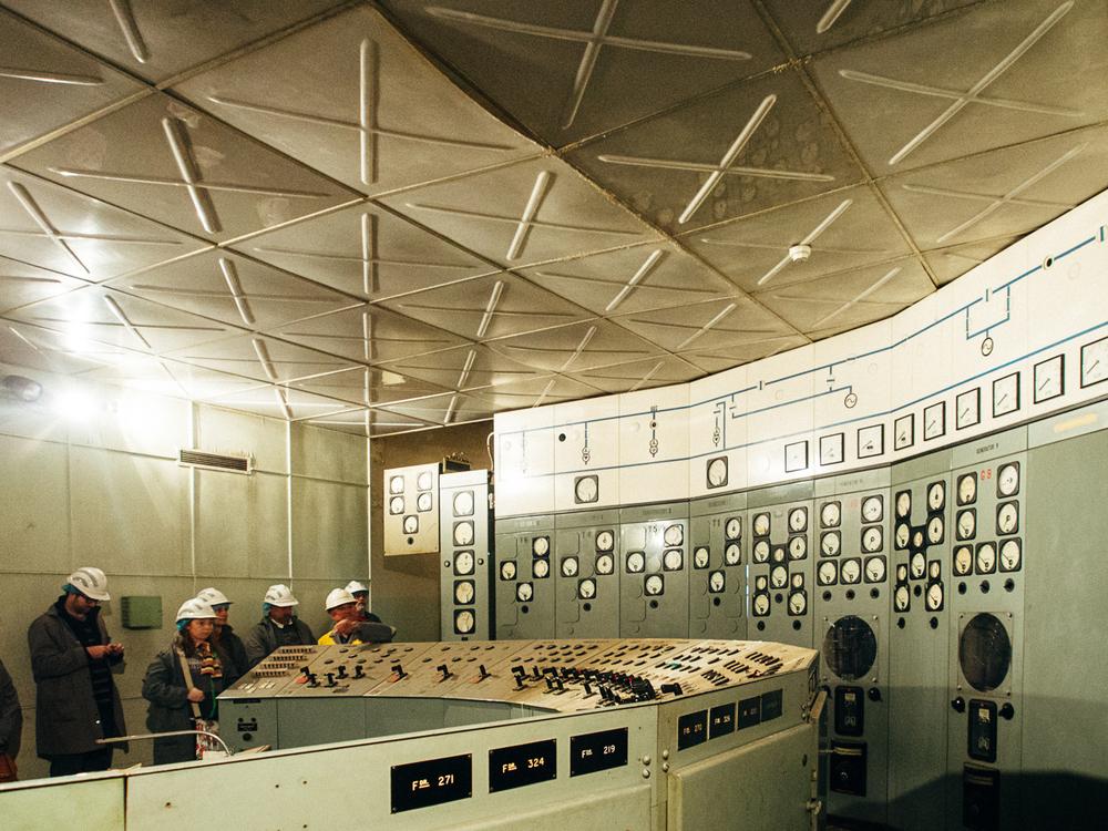 J Substation - Control Room
