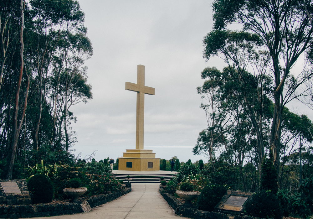 Memorial Cross — Macedon Ranges
