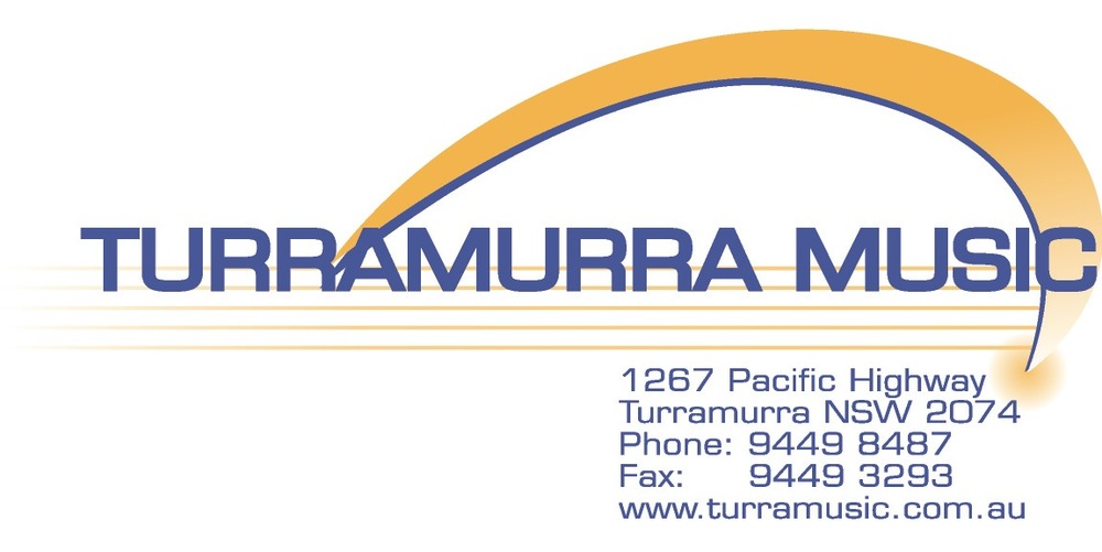 Big thanks to Turramurra Music for their support