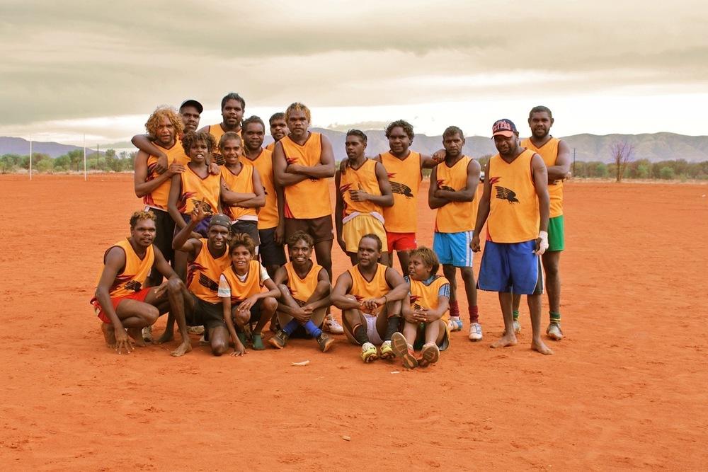 Papunya team
