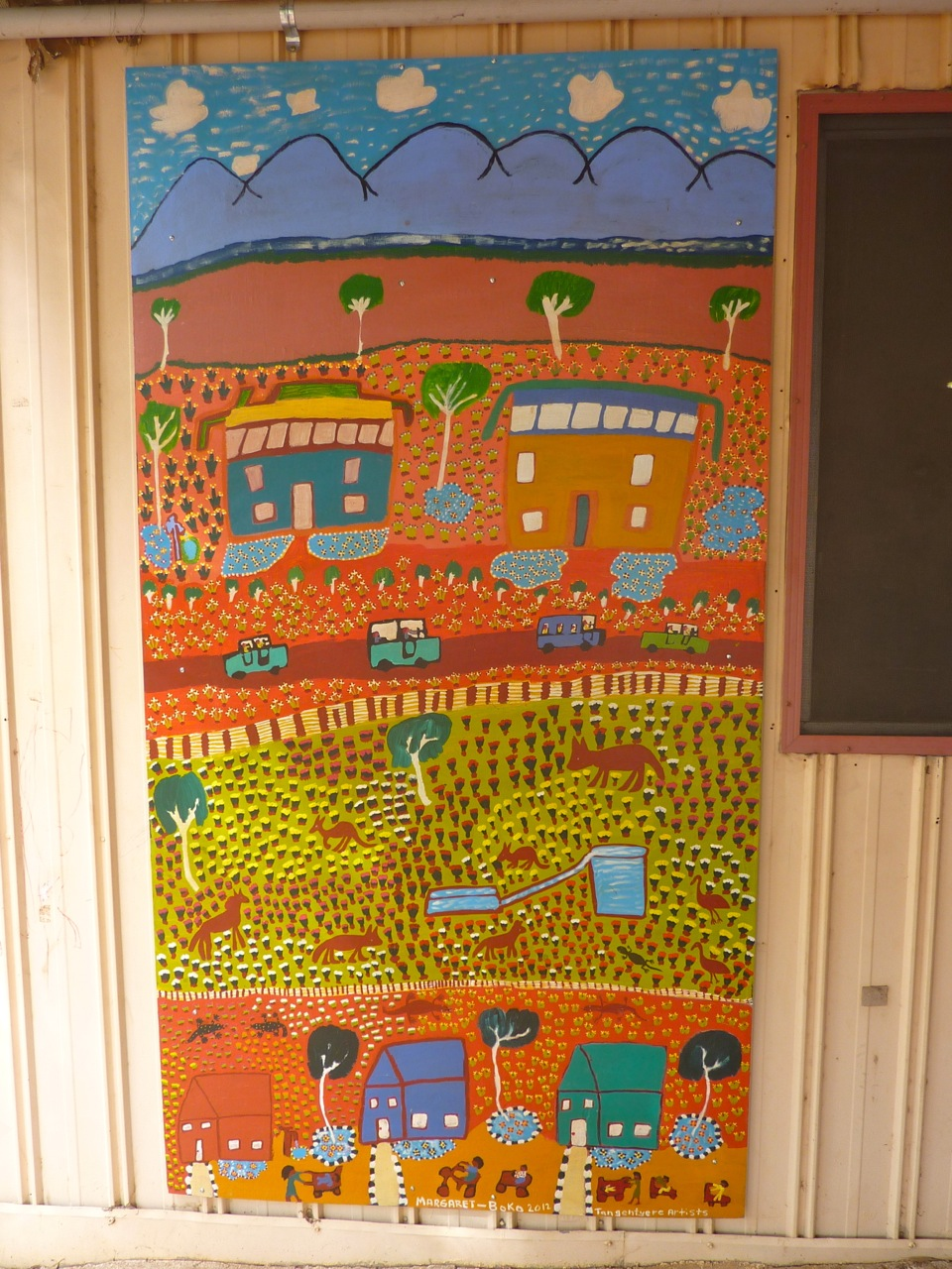 Betty Conway- CAYLUS Mural