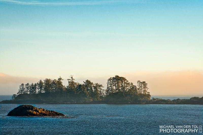 Off the coast of Chesterman Beach, Vancouver Island