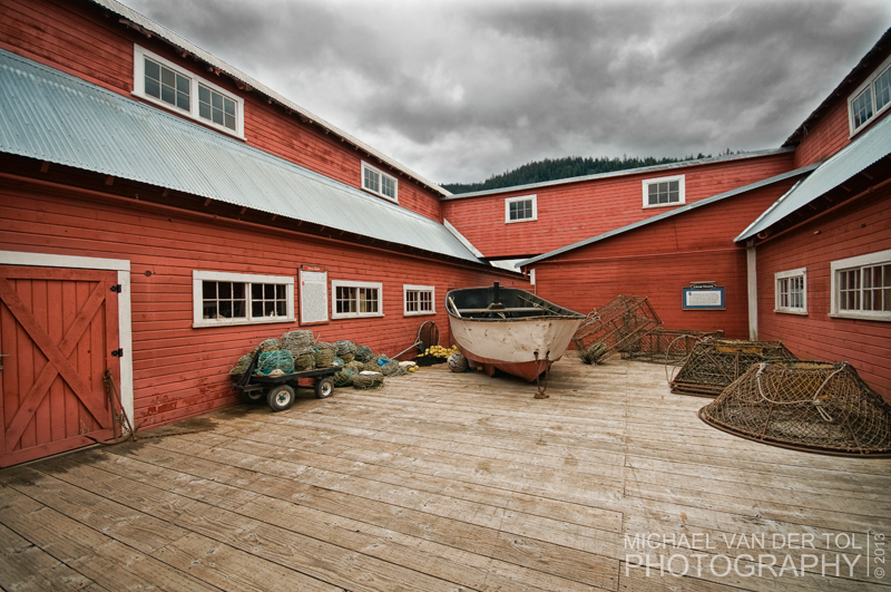 The Cannery Buildings, Icy Strait Point, Hoonah, Alaska