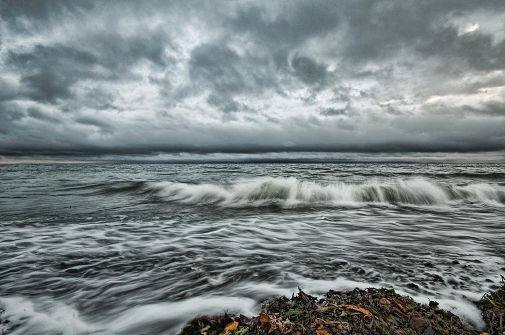 Storm over Qualicum Beach