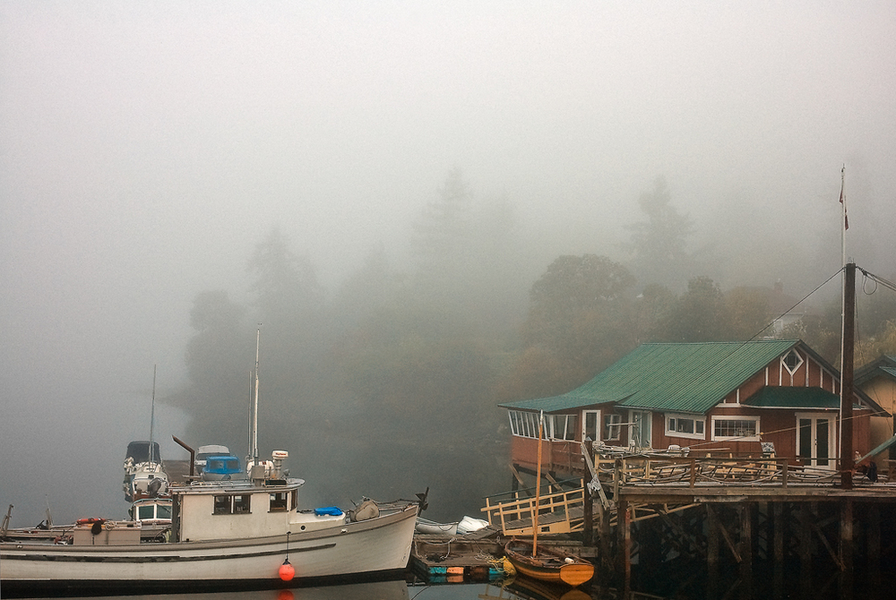 Brentwood Bay, Vancouver Island