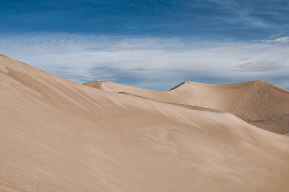 Mesquite Sand Dunes, Death Valley California