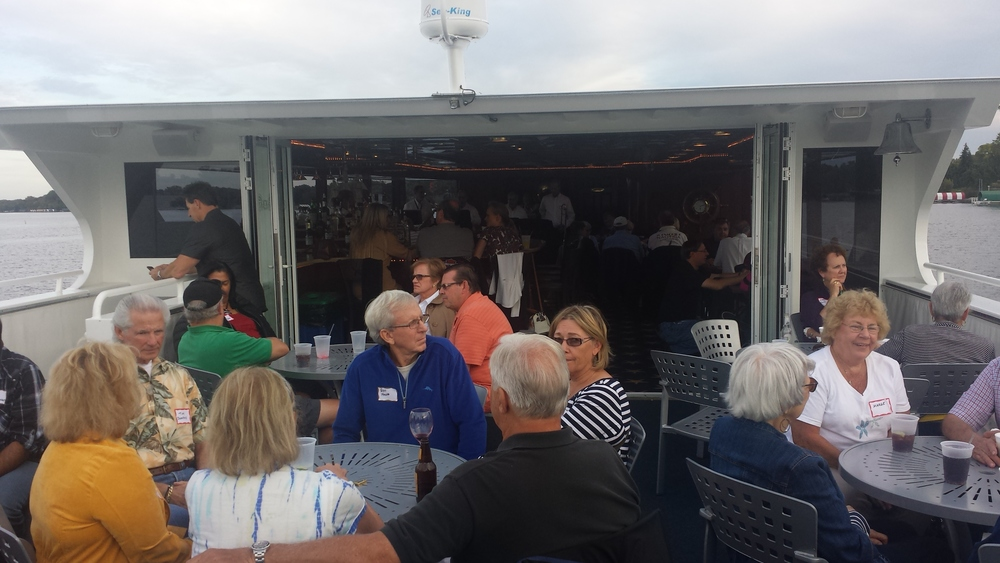2014 Fall Colors Boat Cruise on Lake Minnetonka