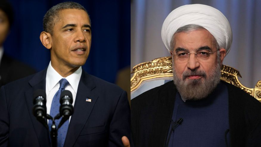President Obama and Iranian President Hassan Rouhani