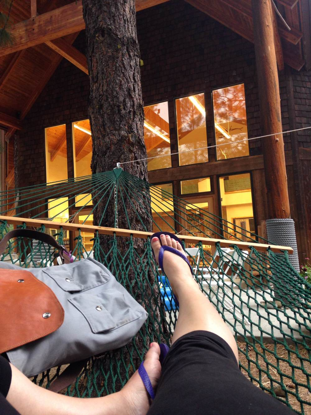 New Discovery: Songwriting in a Hammock = Best thing ever.
