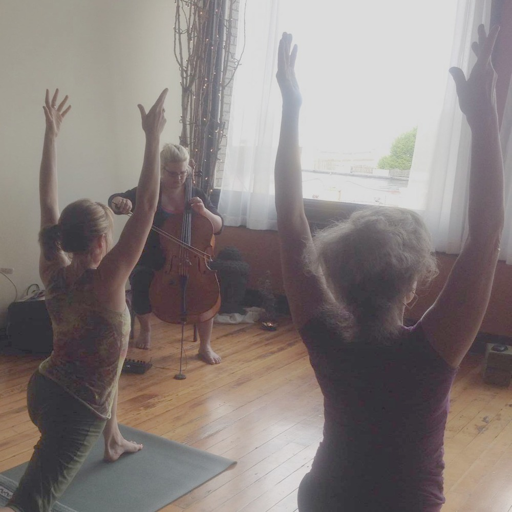 Read more about Live Cello Yoga here.