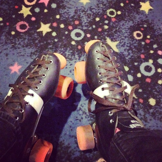 I kick-ass at quad skates.