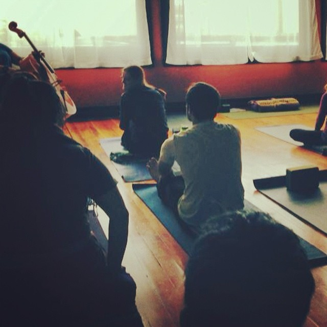 monthly Cello Yoga classes...