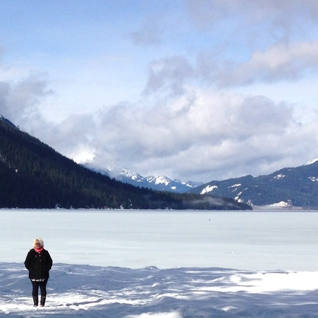 Lake Wenatchee makes me look very small.