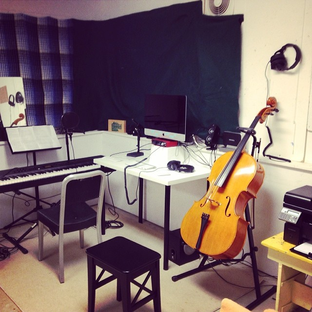 my residency studio!