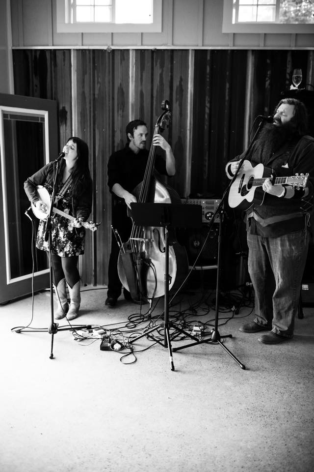 The Banner Days: Beth & Bradford (with Aaron on bass!)
