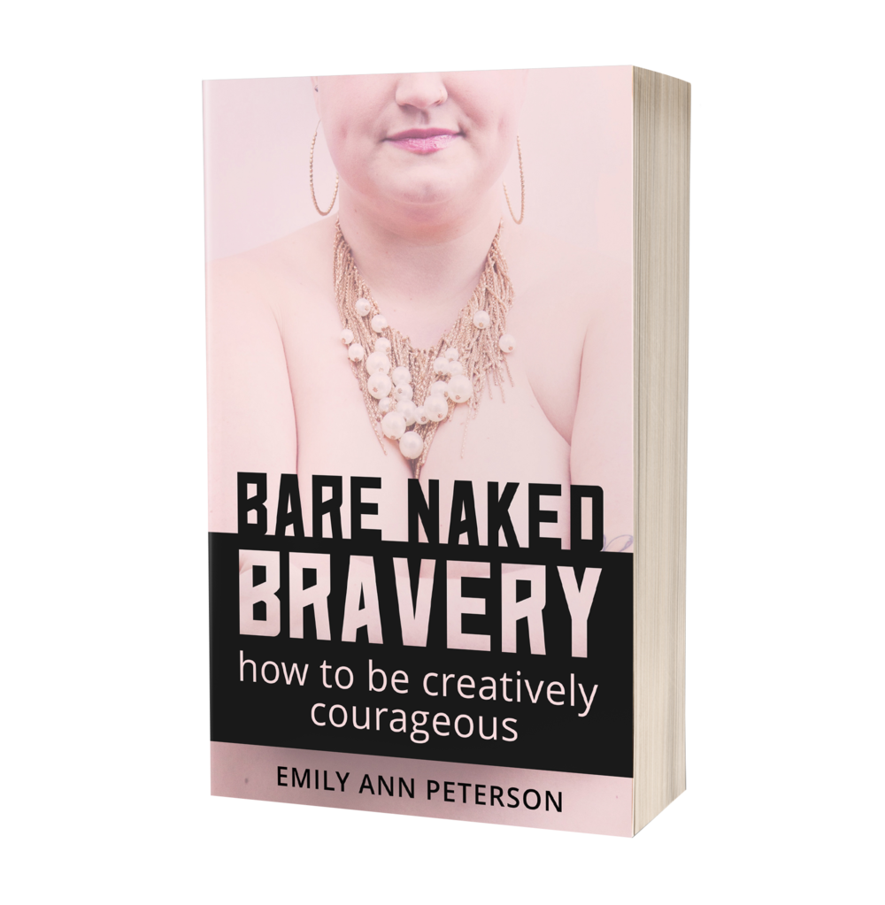 Bare Naked Bravery: How to Be Creatively Courageous - Finally, a definitive explanation of bravery.This deeply vulnerable & rebellious how-to memoir is for people who are tired of feeling like they should be brave but don't know how courage could possibly unfold from their current fears and comfort zones.[CLICK HERE TO PURCHASE & LEARN MORE]