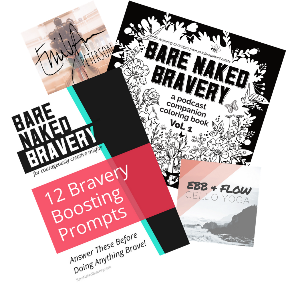 Inner Circle - Free membership for all!Members of my Inner Circle receive: book bonuses, 2 killer original songs, 1 badass coloring book & 1 brave worksheet for guaranteed hutzpah, a 5-Day Bravery Challenge Mini-Course, weekly updates and access to the members-Only Facebook group!