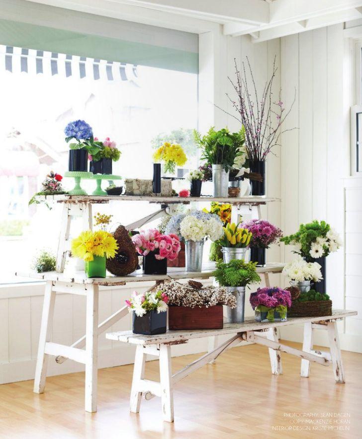 Floral Bridal Show Display