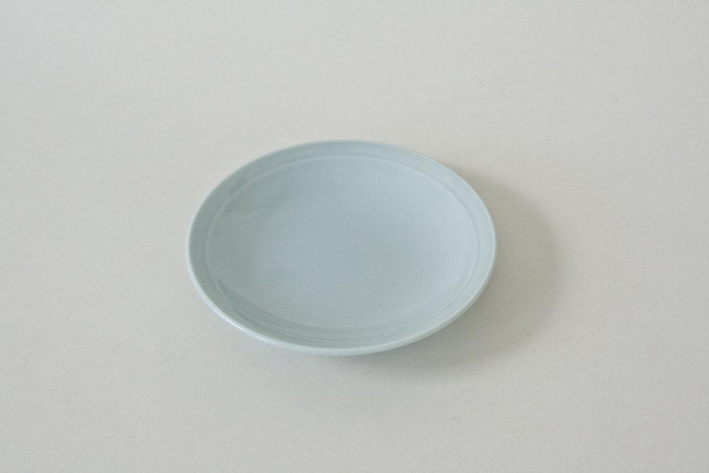 "238. japanese blue plate | 5.25"""