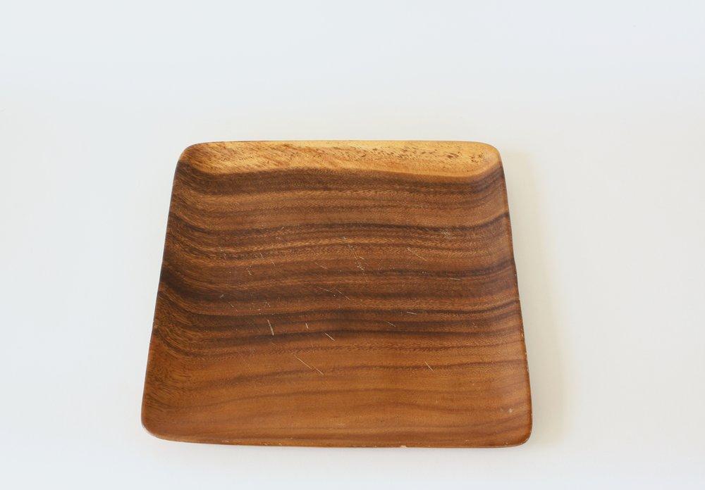 "234-1. wood plate | 11"""
