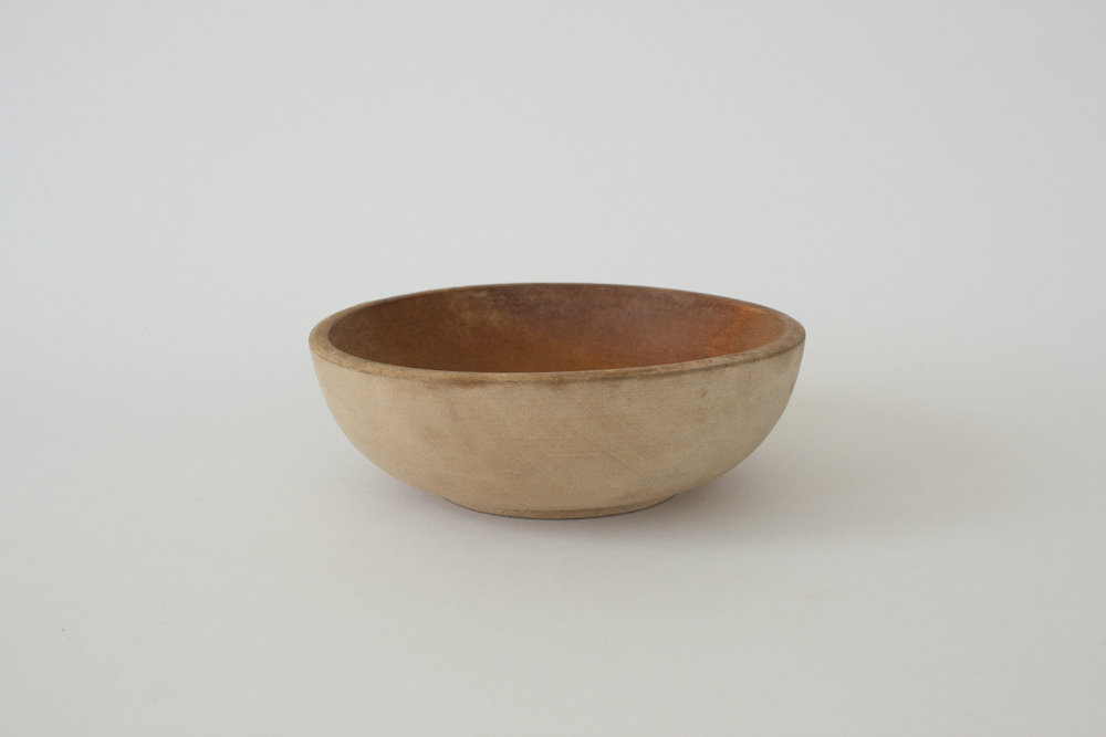 "265. japanese wood bowl | 6"" x 2"" 