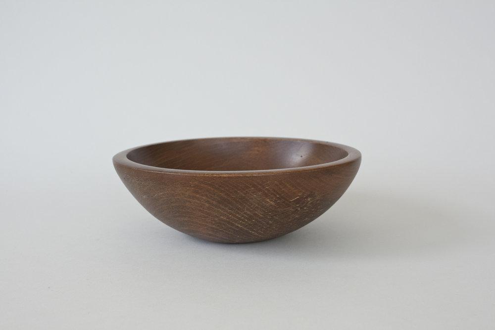 "267. wood bowl | 7"" x 2.5"" | 4"