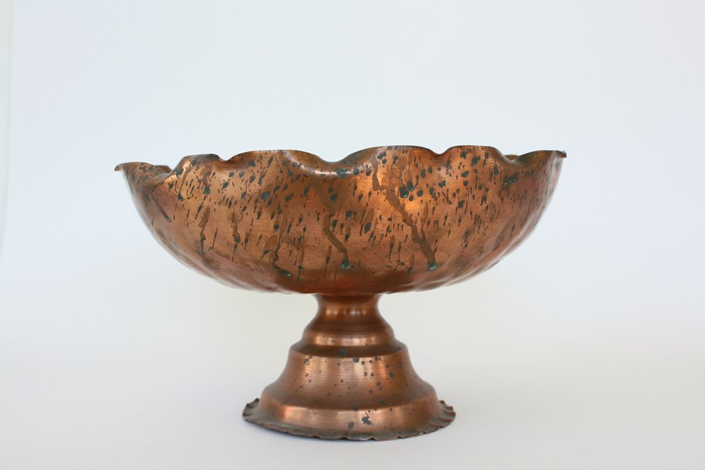 "184. copper compote | 10"" x 6"""