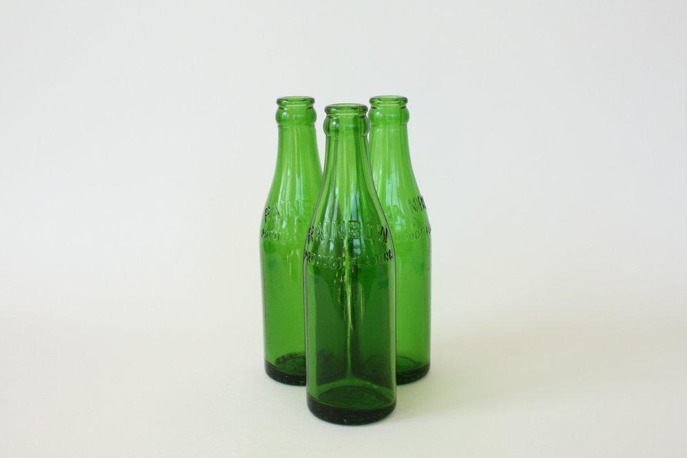 190. green bottle | 8"