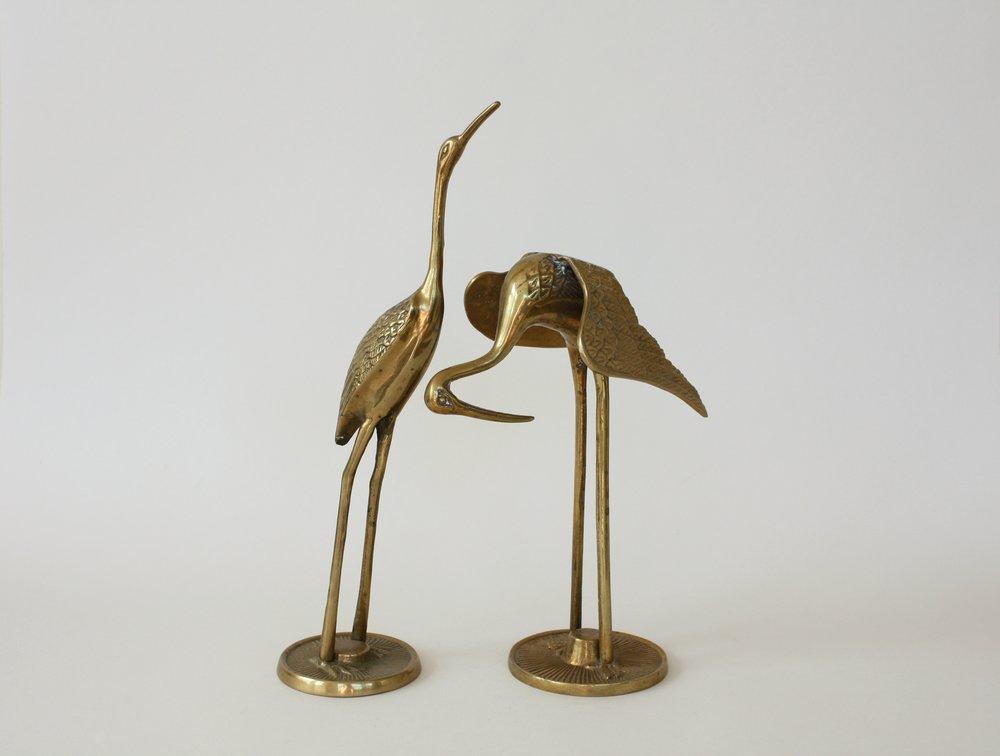 "brass crane   2"" x 9""   6"