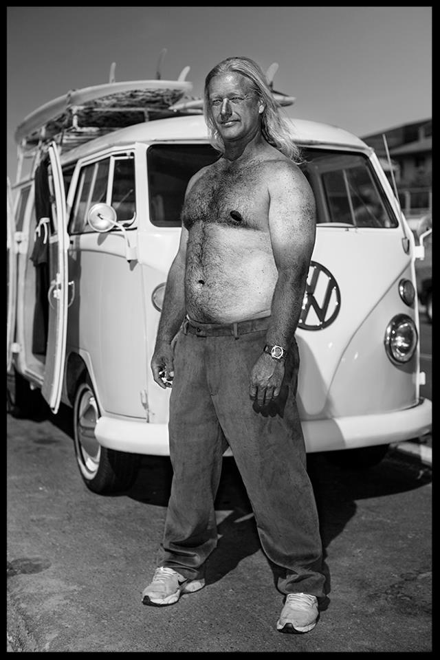 Black White 1  -  Man van