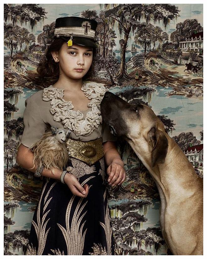 Animal Child  -  Grandmothers dress
