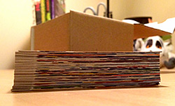 This is all I can show you of my 40 cards right now :(