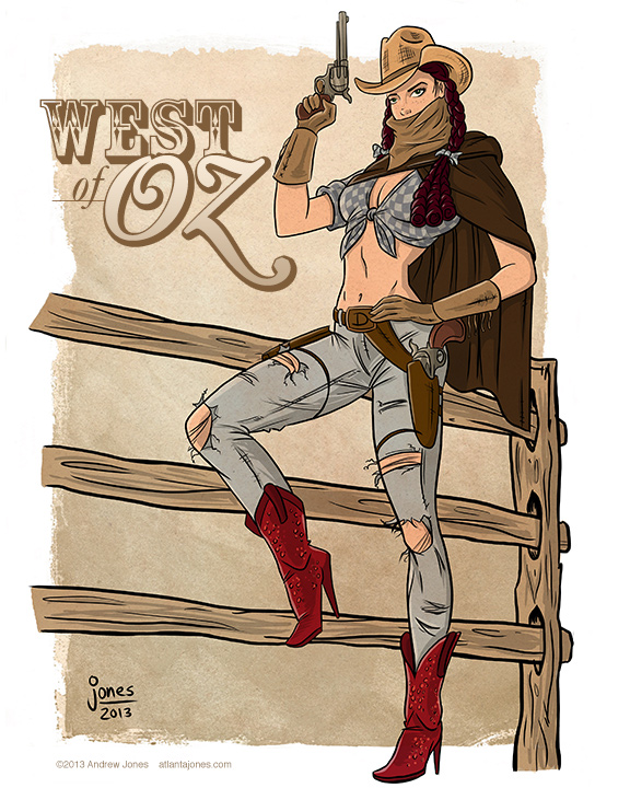 """Western Dorothy"" commission"