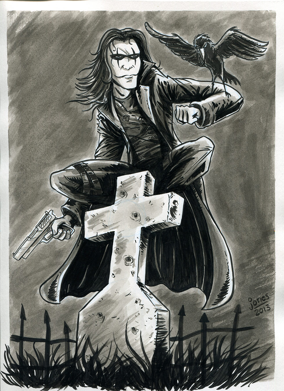 The Crow sketch
