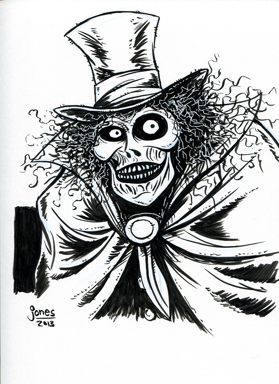 The hatbox ghost from Disney's Haunted Mansion