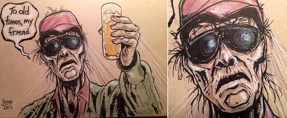 Scrooged sketch