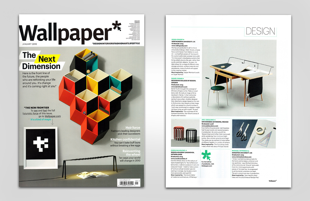 Wallpaper* | Graduate Directory 2010 | Cover