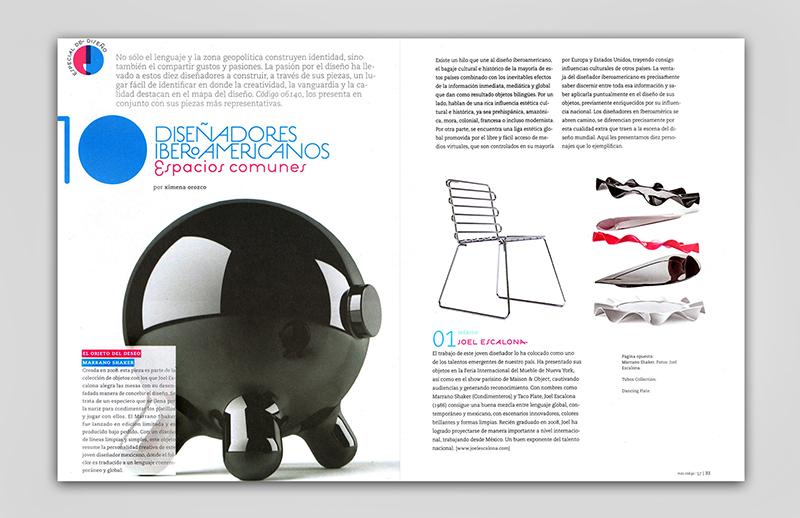 CODIGO 061140 | Mexico | 2010 Featuring the 10 Iberoamerican Designers / Design Special