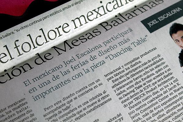 El Universal | Mexico | 2.05.2009