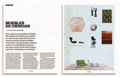 El País Semanal | MUEBLES DE CIENCIAS by Luis M. Ambrós y Susana Aréchaga | 01 - 2014 | Spain