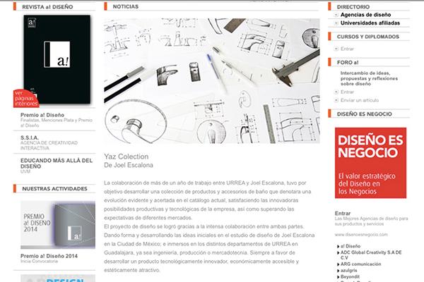 a! Diseño | YAZ Collection | 10 - 2014 | Mexico