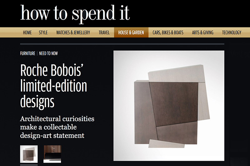 """Architectural curiosities make a collectable design-art statement"" — How to spend it 