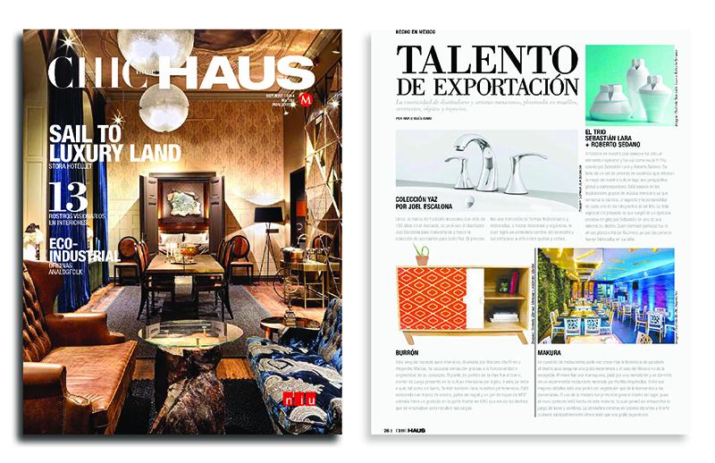 CHIC HAUS | 10 - 2014 | Mexico