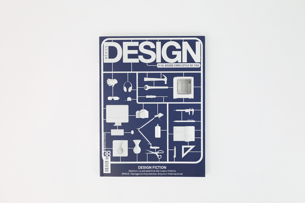 We were invited to design the cover for the 38th issue of Mexico Design magazine. In the cover we portray the importance of understanding were our modern objects come from, and represent the diverse mediums in which we can utilize tools and modern instruments to modify our surroundings with the goal of ensuring our wellbeing.