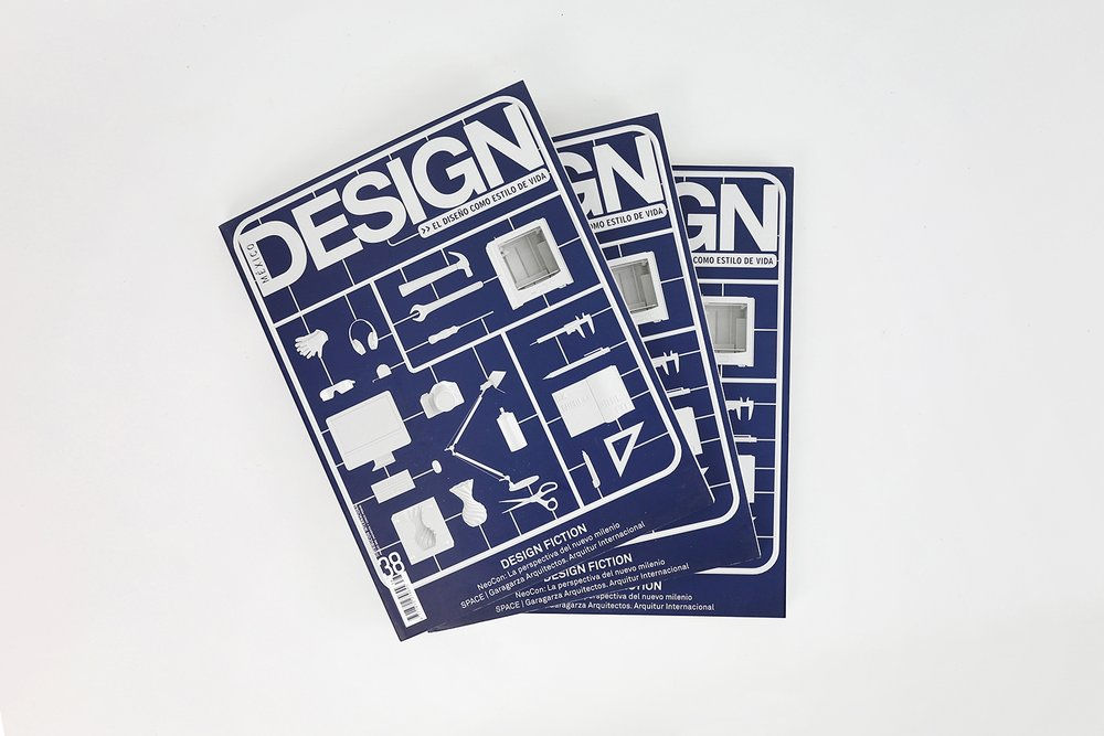 We were invited to design the cover for the 38th issue of Mexico Design magazine.