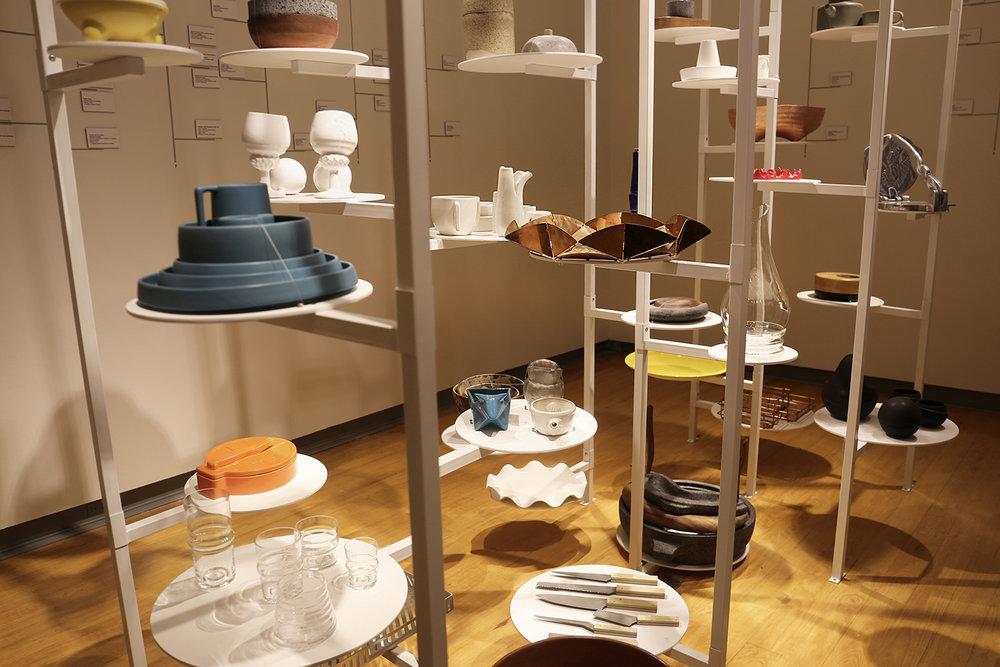 Exhibition Del Plato a la Boca, Diseño y Cocina at Museo del Objeto del Objeto featuring the Dancing Plate.